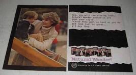 1980 Revlon Natural Wonder Cosmetics Ad - Winning Looks - $14.99