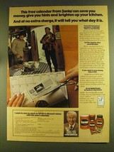 1980 Sanka Coffee Ad - Robert Young - Save You Money - $14.99
