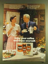 1980 Sanka Coffee Ad - Robert Young - Enjoy Yourself - $14.99