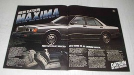 1980 Datsun Maxima Ad - For Luxury-Minded - $14.99