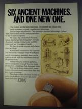 1980 IBM Computers Ad - Six Ancient Machines - $14.99