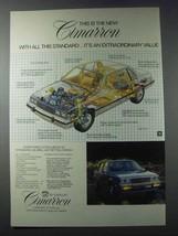 1981 Cadillac Cimarron Ad - $14.99