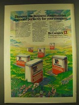 1980 McCormick Properties Ad - Business Seasoned - $14.99