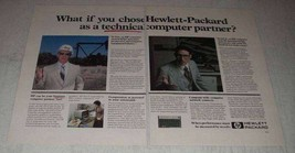 1981 Hewlett-Packard Ad - HP 125, 1000, 9845 Computers - $14.99