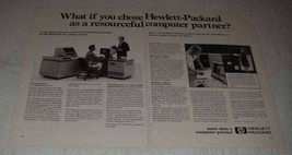 1981 Hewlett-Packard HP 3000 Series 44 Computer Ad - $14.99