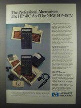 1981 Hewlett-Packard HP-41C & HP-41CV Calculators Ad - $14.99