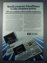 1981 Hewlett-Packard HP 9826 and 9845 Computers Ad - $14.99