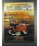 1981 International Harvester 782 Cub Cadet Tractor Ad - $14.99