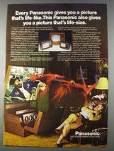 1980 Panasonic Projection TV Ad - Picture Life-Like - $14.99