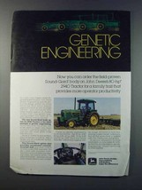 1981 John Deere 2940 Tractor Ad - Genetic Engineering - $14.99