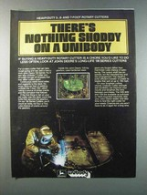 1981 John Deere Unibody Cutter Ad - Nothing Shoddy - $14.99
