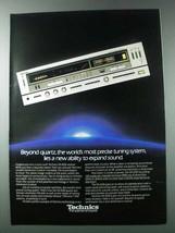 1981 Panasonic Technics SA-828 Receiver Ad - $14.99
