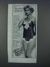 1981 Victoria's Secret Lingerie Ad - Beautiful - $14.99