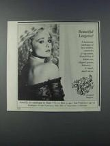 1981 Victoria's Secret Designer Lingerie Ad - Beautiful Lingerie - $14.99