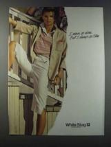 1981 White Stag Sportswear Ad - I Never Go Alone - $14.99