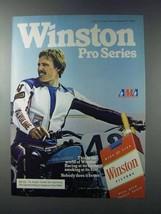 1981 Winston Cigarettes Ad - Pro Series - AMA - $14.99