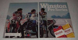 1981 Winston Cigarettes Ad - Pro Series - $14.99