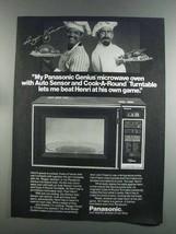 1982 Panasonic Genius Microwave Ad - Reggie Jackson - $14.99