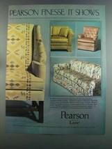 1982 Pearson Lane Furniture Ad - Finesse - $14.99