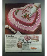 1982 Wilton Cake Pans Ad - Decorate - $14.99