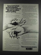 1981 ARCO Oil Ad - Explore Without Spoiling - $14.99