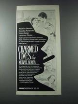 1981 Avon Charmed Lives Novel Ad - Micahel Korda - $14.99