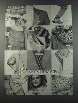 1981 Barney's, New York Fashion Ad - Basile, Kenzo - $14.99