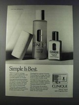 1981 Clinique Ad - Clarifying Lotion 2 - $14.99