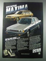 1981 Datsun Maxima Car Ad - $14.99