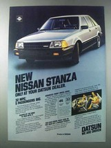 1981 Datsun Nissan Stanza Ad - Only at Your Dealer - $14.99
