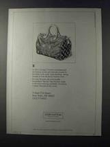 1981 Louis Vuitton Speedy Bag Ad - $14.99