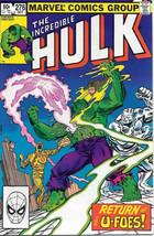 The Incredible Hulk Comic Book #276 Marvel 1982 Very FINE/NEAR Mint - $3.99