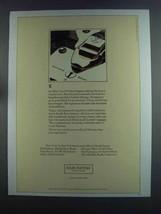 1982 Louis Vuitton Lugage Ad - $14.99