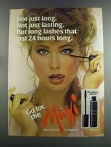 1982 Max Factor Maxi-Lash Mascara Ad - $14.99