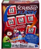 Hasbro Electronic Scrabble FLASH Family Card Ga... - $24.95