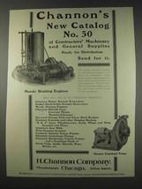 1910 Mundy Hoisting Engines & Channon Pumps Ad - $14.99