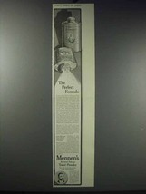 1913 Mennen's Borated Talcum Toilet Powder Ad - $14.99
