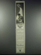 1913 Mennen's Borated Talcum Toilet Powder Ad - Baby - $14.99