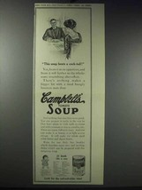 1913 Campbell's Tomato Soup Ad - Beats a Cock-Tail - $14.99