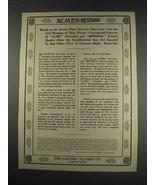 1913 Canton Culvert Acme Corrugated Culverts Ad - $14.99