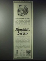 1913 Campbell's Tomato Soup Ad - Will Do You Good - $14.99