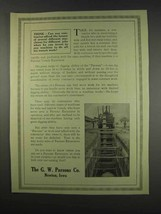 1913 G.W. Parsons Trench Excavators Ad - Think - $14.99