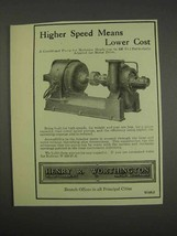 1913 Henry R. Worthington Centrifugal Pump Ad - $14.99
