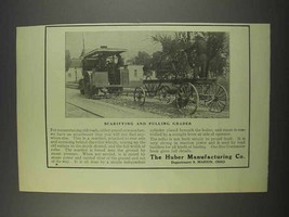 1913 Huber Scarifying and Pulling Grader Ad - $14.99