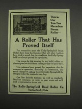 1913 Kelly-Springfield Road Roller Ad - Proved Itself - $14.99