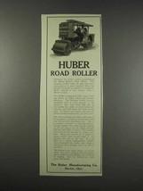 1913 Huber Road Roller Ad - $14.99