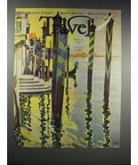 1932 Travel Magazine Cover - August - Vittorio Grassi - $14.99