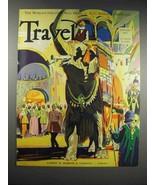 1932 Travel Magazine Cover - January 1932 - $14.99