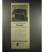 1936 Baldwin Howard Aerosonic Piano Ad - $14.99