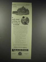 1929 Kerner Kernerator Ad, Maryland State Normal School - $14.99